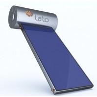 Ηλιακός Θερμοσίφωνας LATO 90 L με 1 επιλεκτικό συλλέκτη 1,5τ.μ.