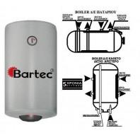 ΜΠΟΙΛΕΡ διπλής ενέργειας BARTEC SUPER GLASS (TITANIOY) 80lt
