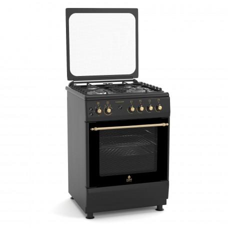 Κουζίνα αερίου - υγραερίου TG 4010 BL RUSTIC MULTIGAS