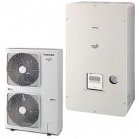 Αντλία θερμότητας διαιρούμενου τύπου TOSHIBA ESTIA POWERFUL 60°C (HWS-P1405H8R-E)